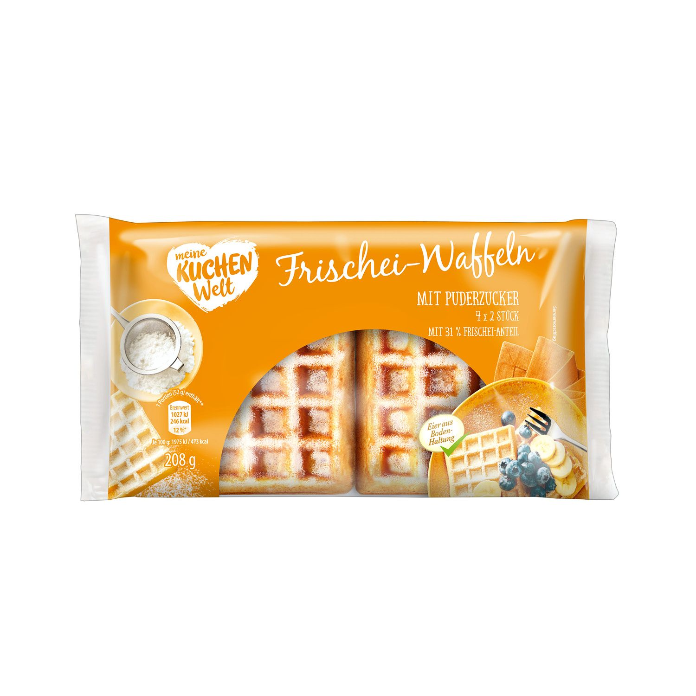 Meine Kuchenwelt Frischei-Waffeln 208 g
