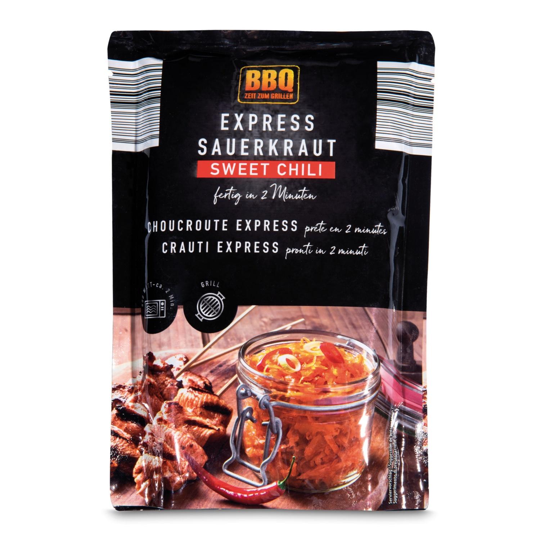 BBQ Express-Sauerkraut, Sweet-Chili-Kraut