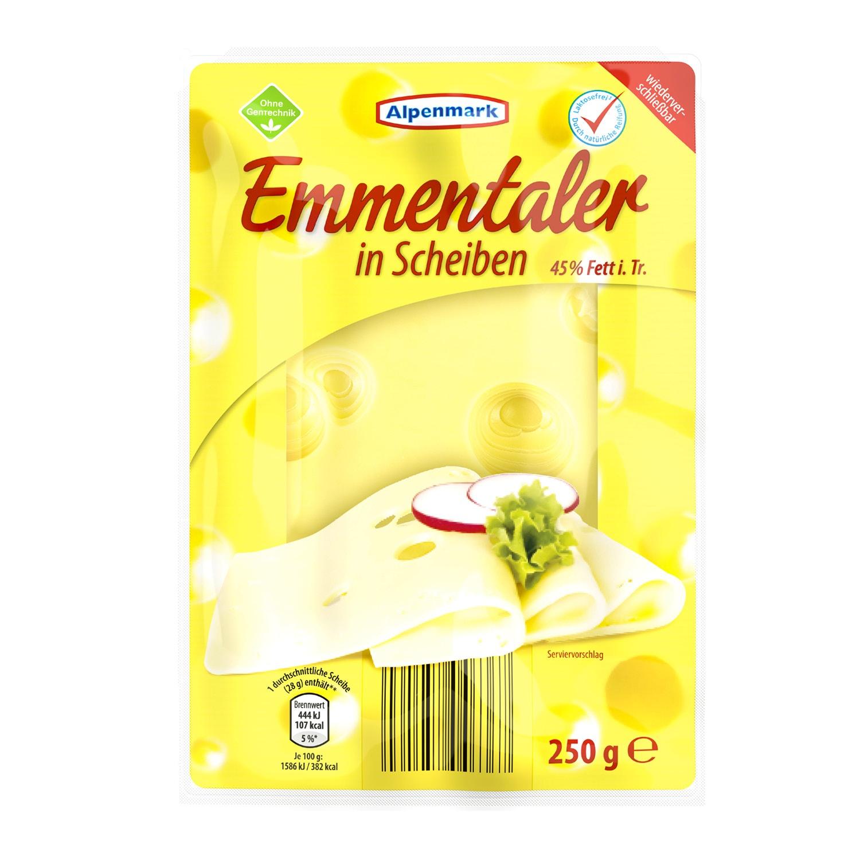 Alpenmark Emmentaler in Scheiben 250 g