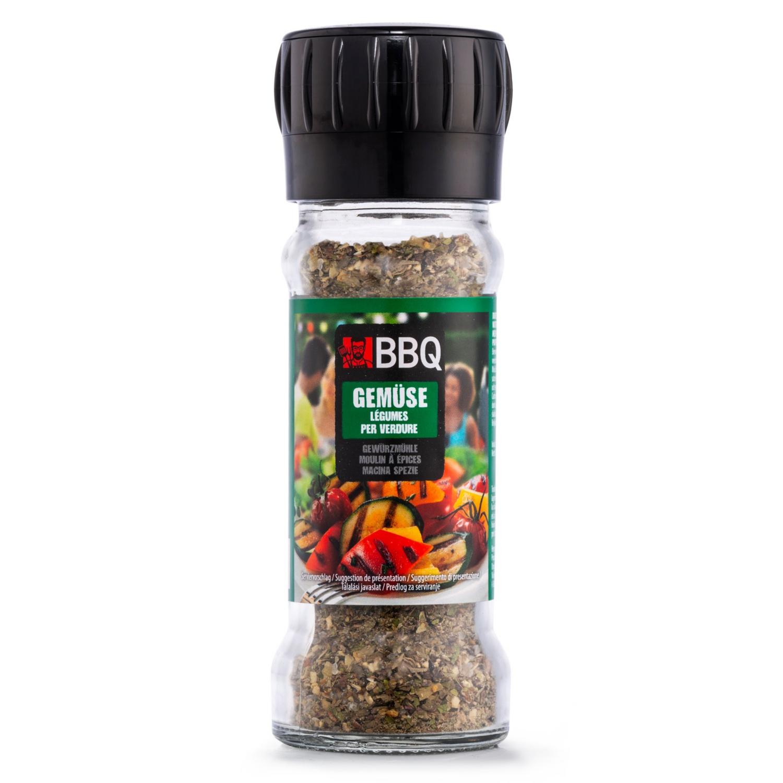 BBQ Gewürzmühle, Gemüse