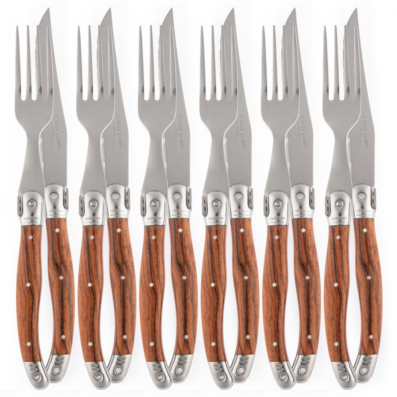 CROFTON Steakmesser/-gabeln
