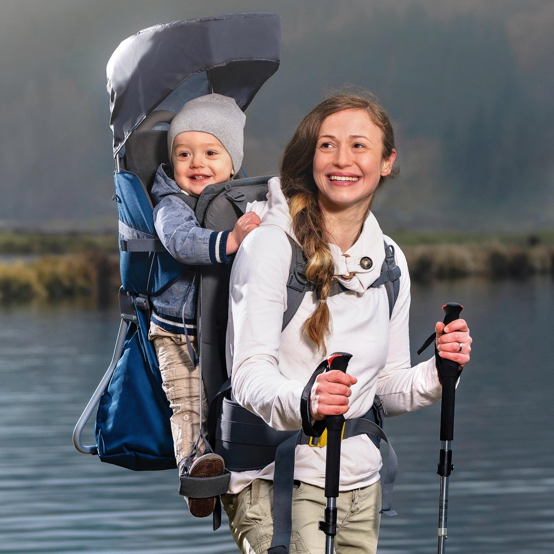 ADVENTURIDGE Kinder-Rückentrage