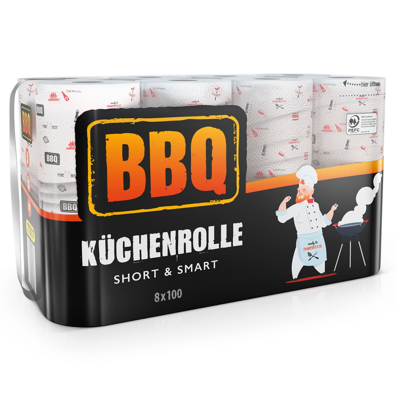 BBQ Küchenrolle Design
