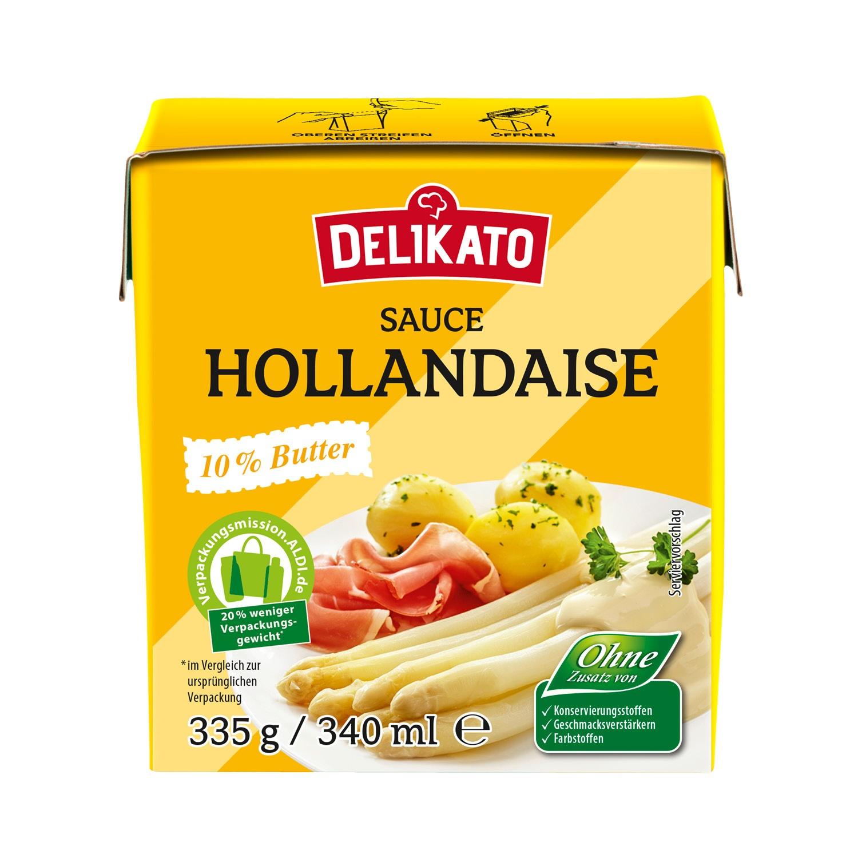 DELIKATO Sauce Hollandaise 340 ml