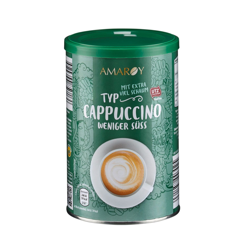 AMAROY Cappuccino Varianten 200 g