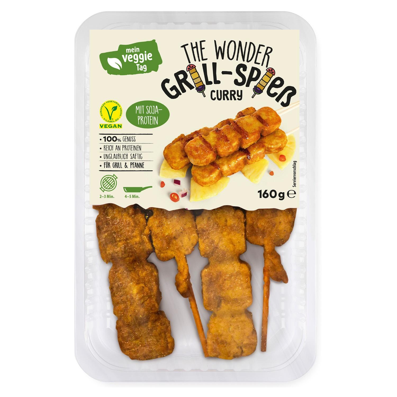 Mein Veggie Tag The Wonder Grill- & Flammenspieße 160 g