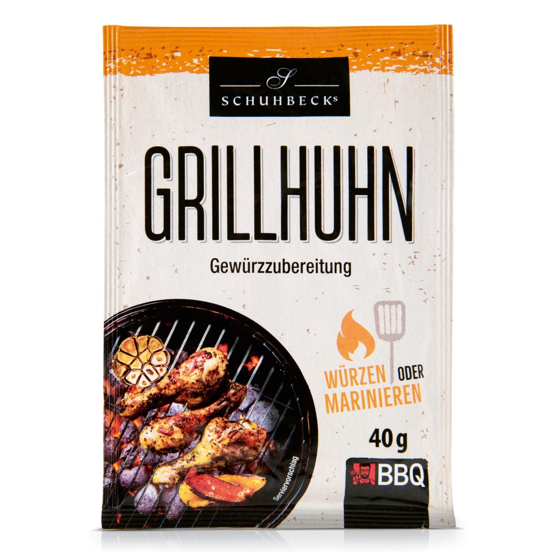 SCHUHBECK'S BBQ-Gewürze, Grillhuhn