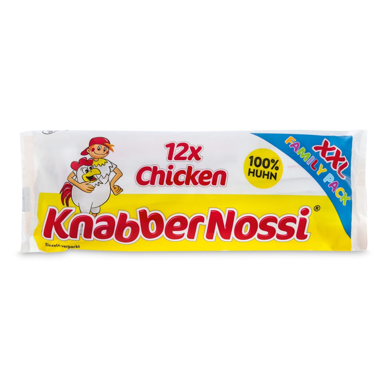 KNABBER NOSSI, Huhn