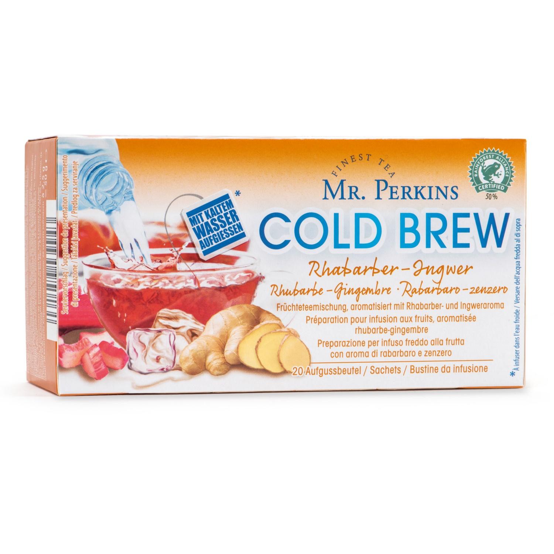 MR. PERKINS Cold Brew Früchte, Rhabarber-Ingwer