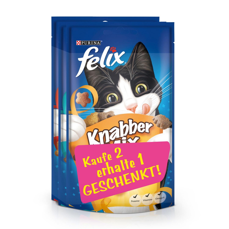 FELIX Knabbermix 2+1 gratis