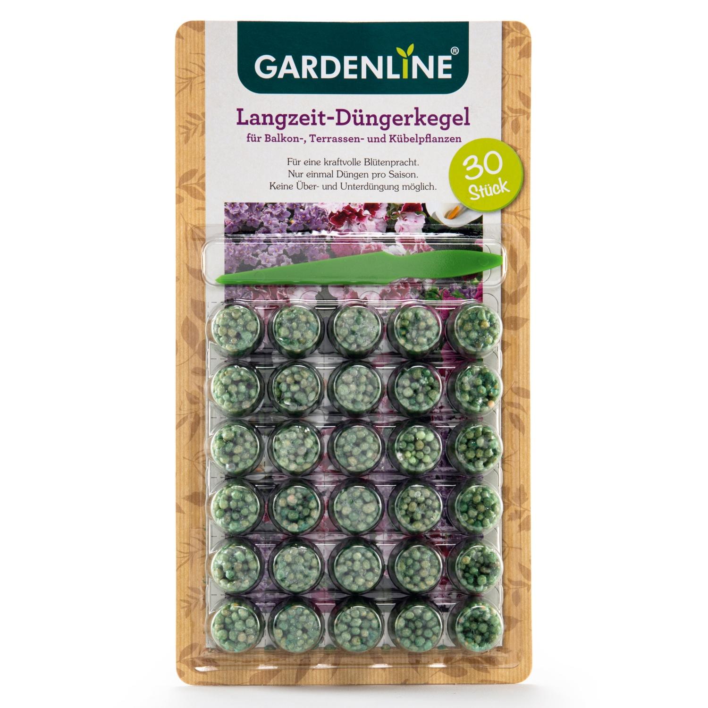 GARDENLINE Balkonpflanzen-Düngerkegel