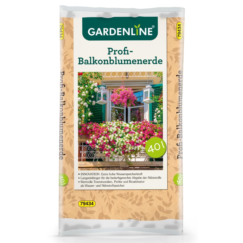 GARDENLINE Profi-Balkonblumenerde