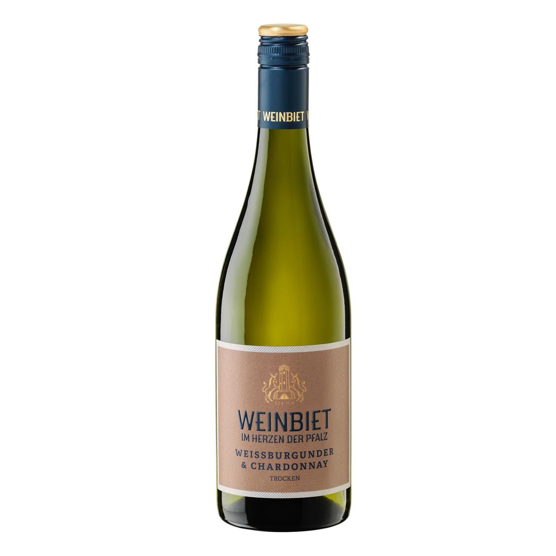 Weinbiet 2020 Weißburgunder & Chardonnay QbA 0,75 l