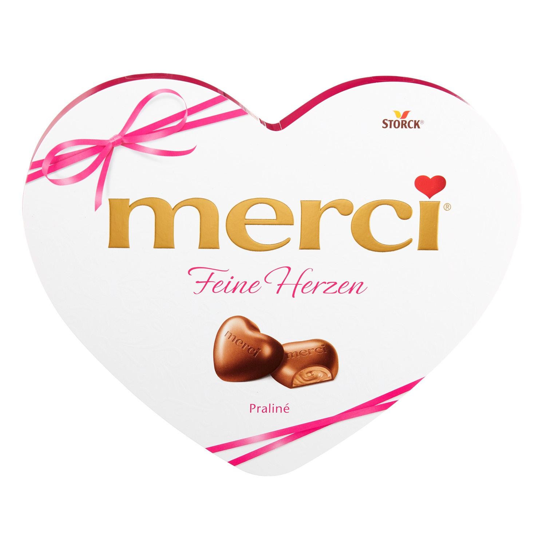 STORCK® merci® Feine Herzen 140 g*