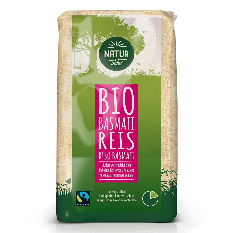 NATUR AKTIV BIO-Fairtrade-Basmatireis