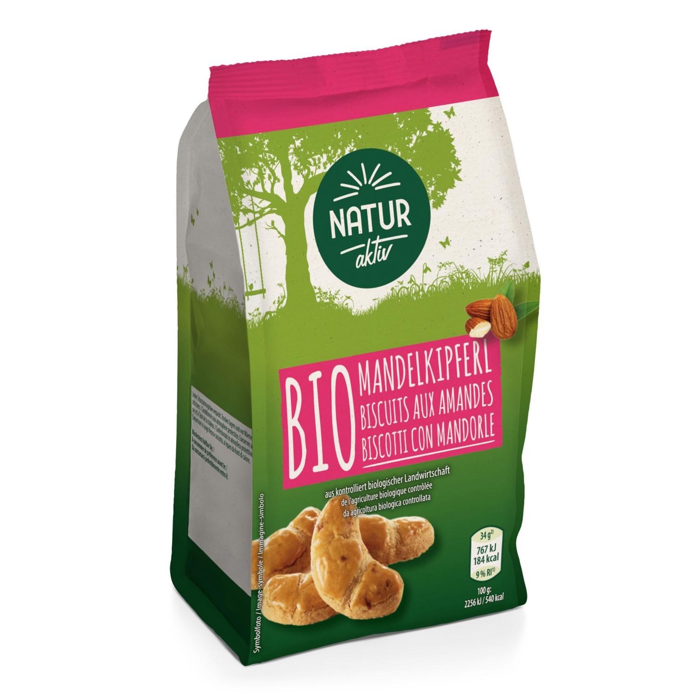 NATUR AKTIV BIO-Kekse, Mandelkipferl