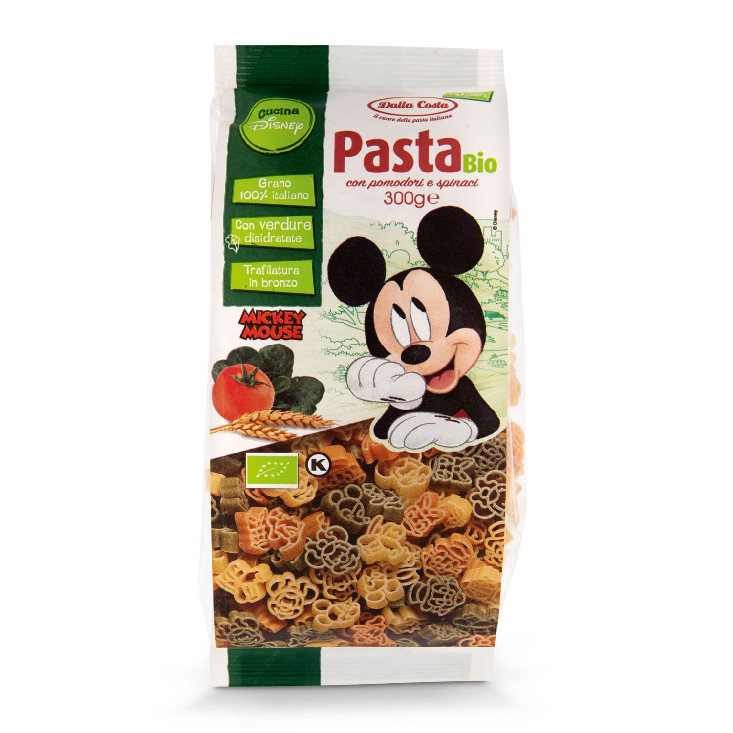 DISNEY BIO-Pasta, Mickey Mouse