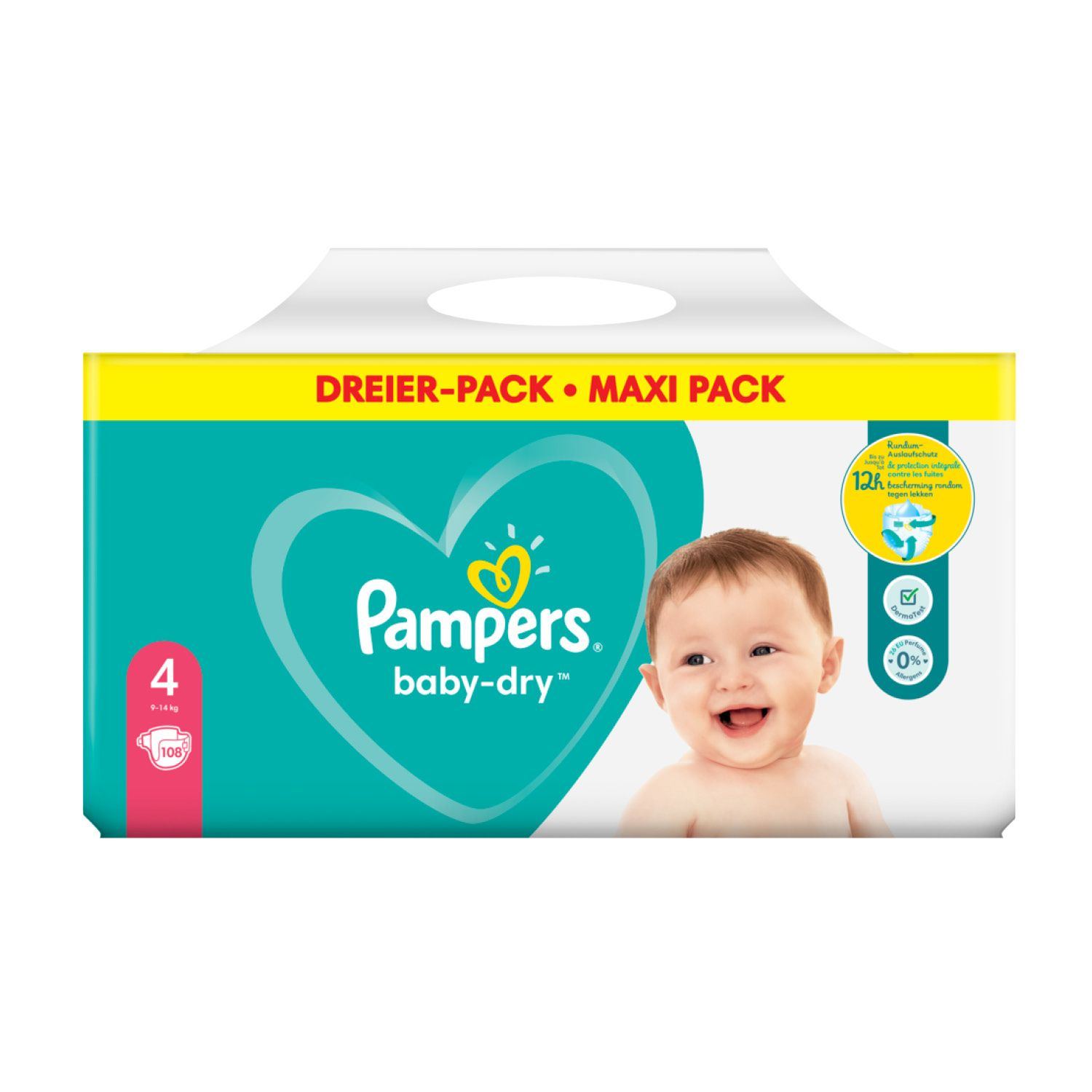 Pampers baby-dry™, 3er-Packung*