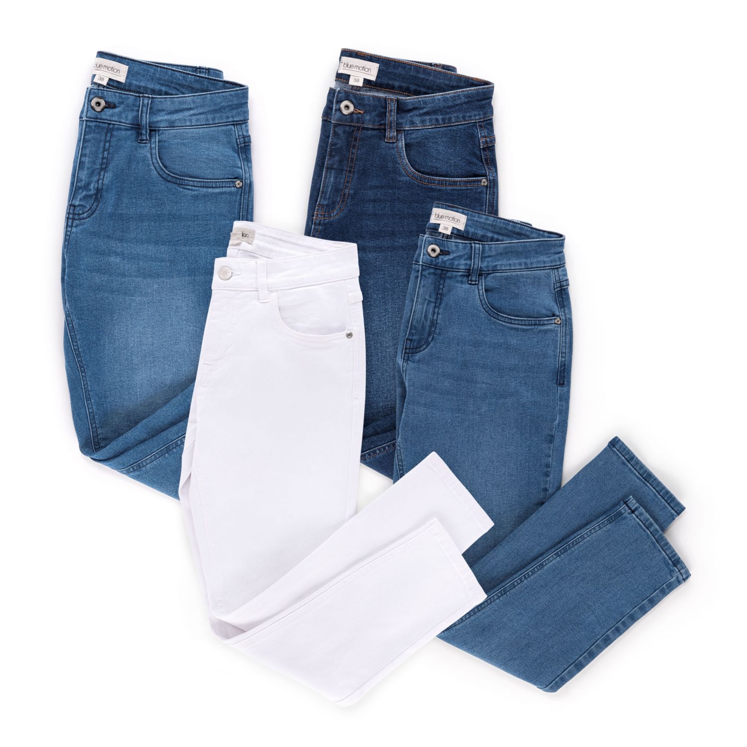 BLUE MOTION Damen-Jeans
