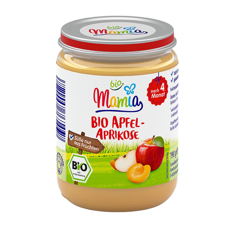 Mamia bio Bio-Apfel-Aprikose 190 g