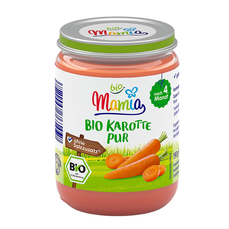 Mamia bio Bio-Karotte pur 190 g