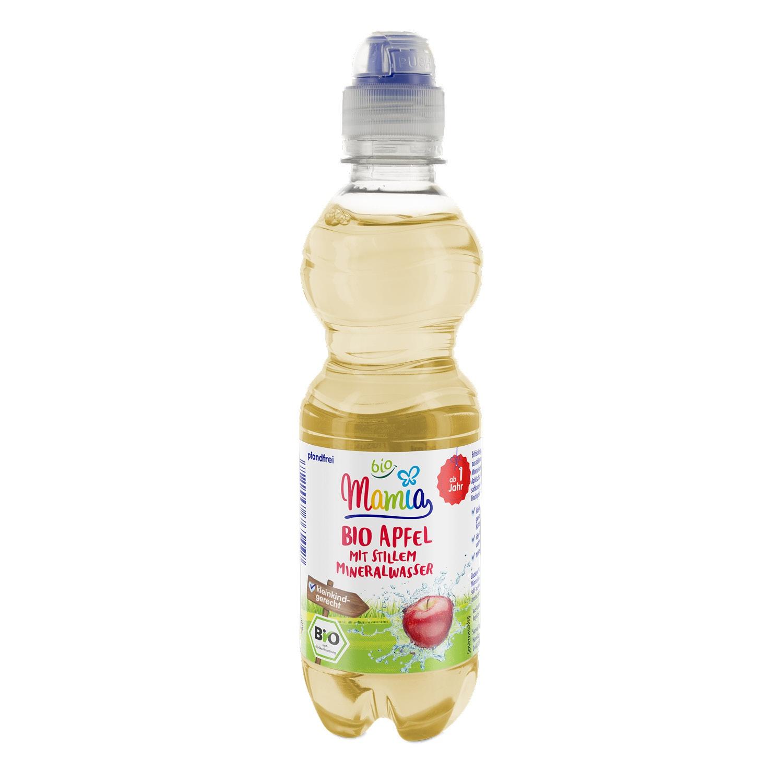 Mamia bio Bio-Apfel mit stillem Mineralwasser 0,33 l