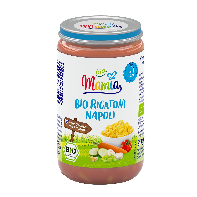 Mamia bio Bio-Rigatoni Napoli 250 g