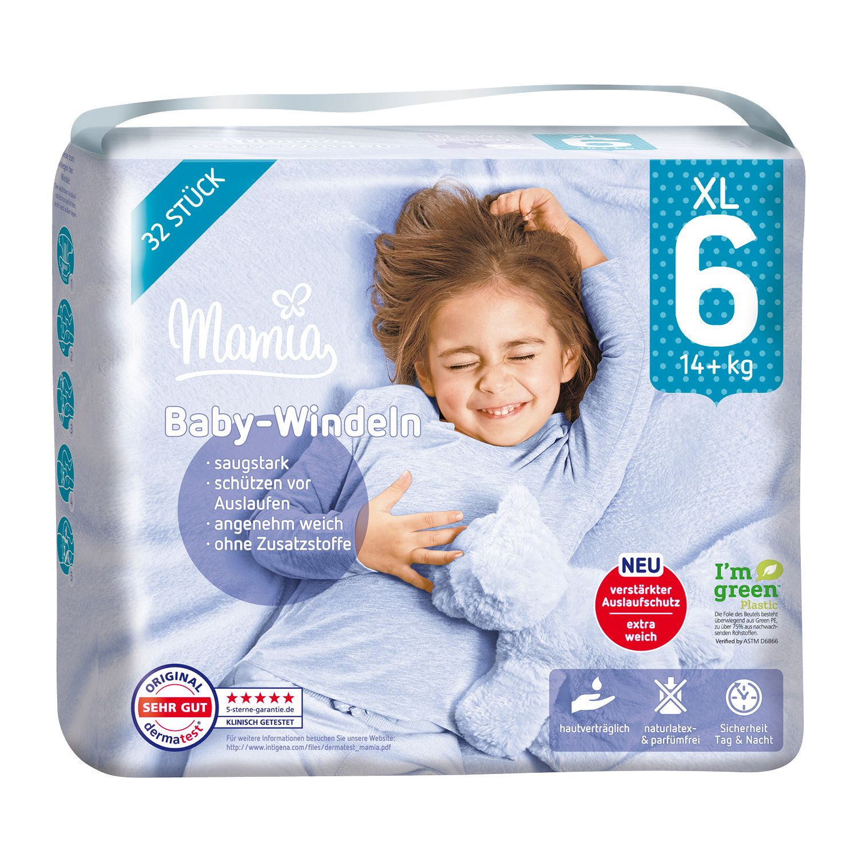 Mamia Windeln Größe 6