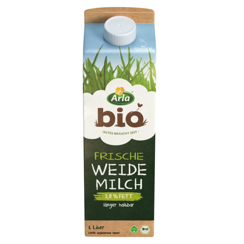 Arla® Bio Frische Weidemilch 1 l*