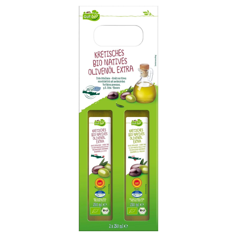 GUT bio Kretisches Bio Natives Olivenöl Extra 500 ml*