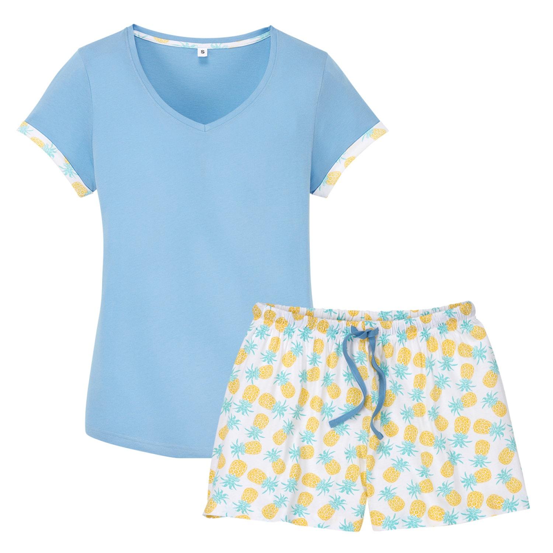 blue motion Shorty-Pyjama*