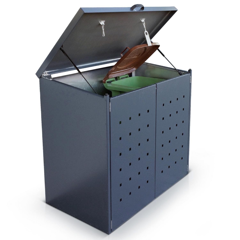Alumero Mülltonnenbox
