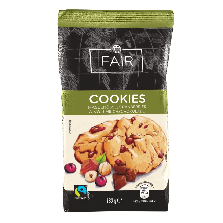 FAIR Fairtrade Cookies 180 g