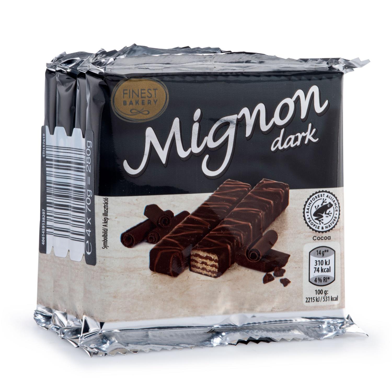 FINEST BAKERY Mignonschnitten, Zartbitter