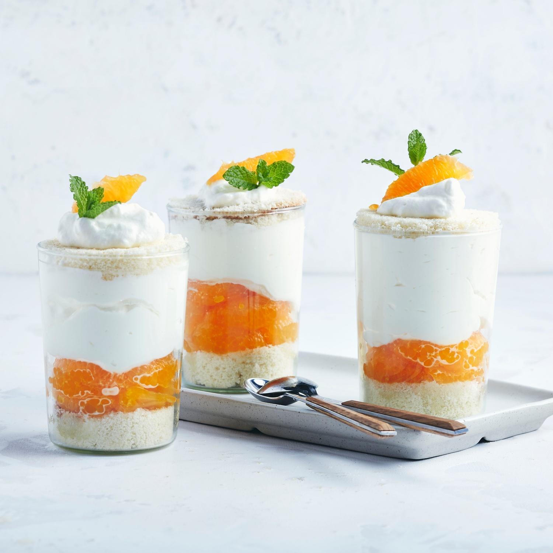 Schnelles Käsekuchen-Dessert aus dem Glas