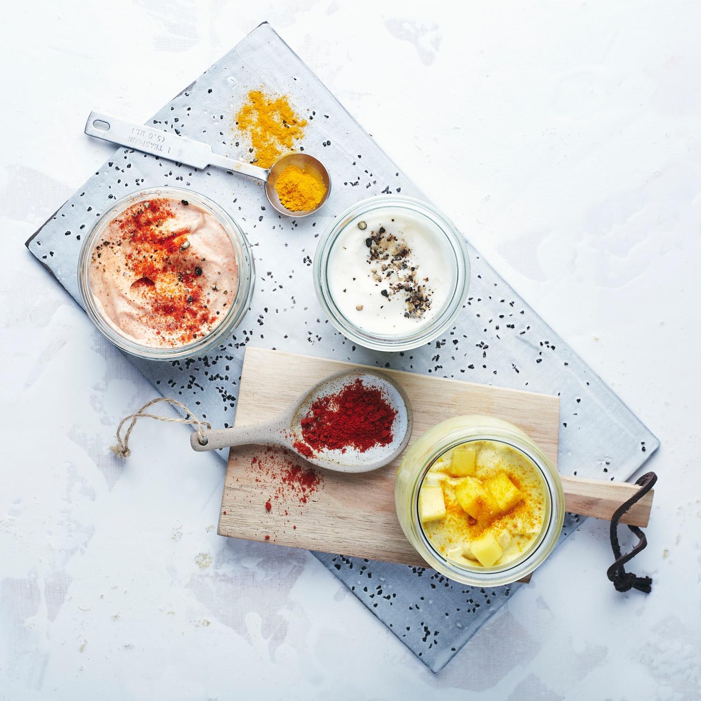 Mayonnaise und Varianten