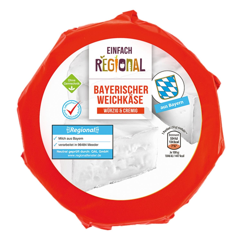 EINFACH REGIONAL Bayrischer Alpenweichkäse 350 g