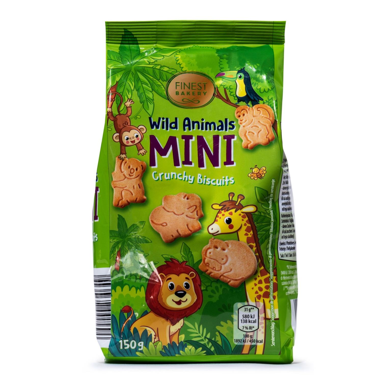 FINEST BAKERY Mini Kekse, Wilde Tiere