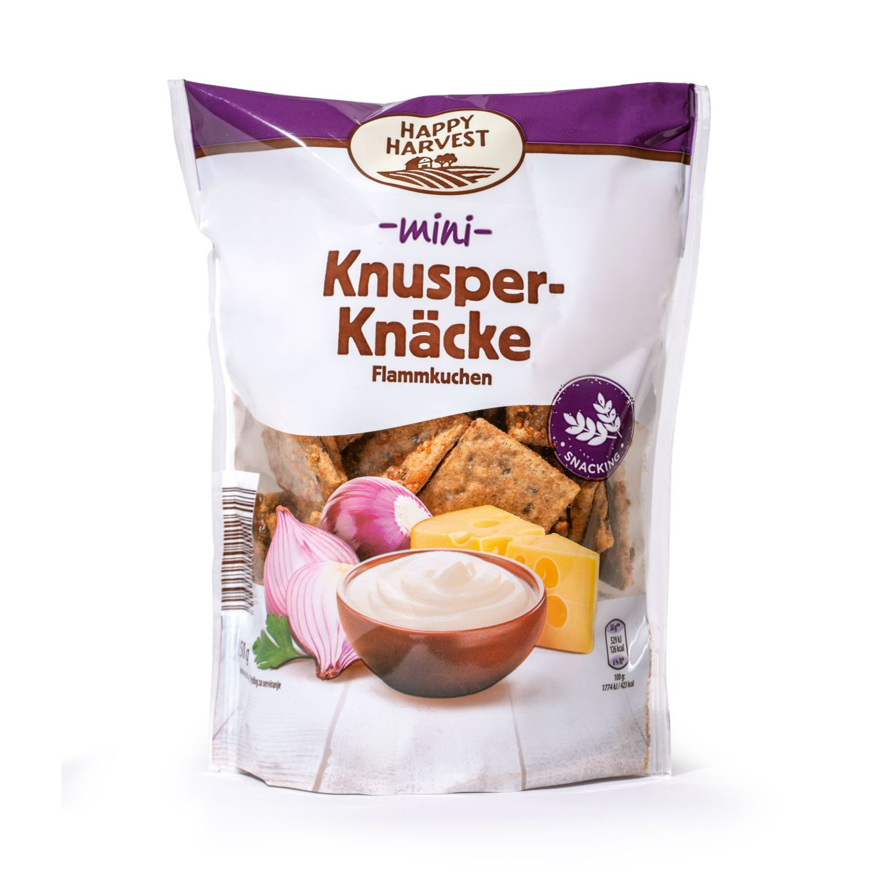 HAPPY HARVEST Knusper-Knäcke, Flammkuchen Mini