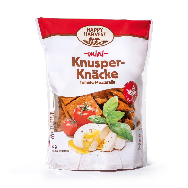 HAPPY HARVEST Knusper-Knäcke, Tomate-Mozzarella Mini
