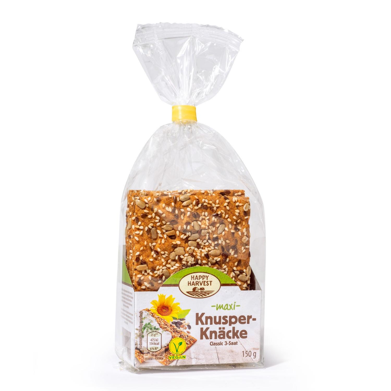 HAPPY HARVEST Knusper-Knäcke, Classic 3-Saat Maxi