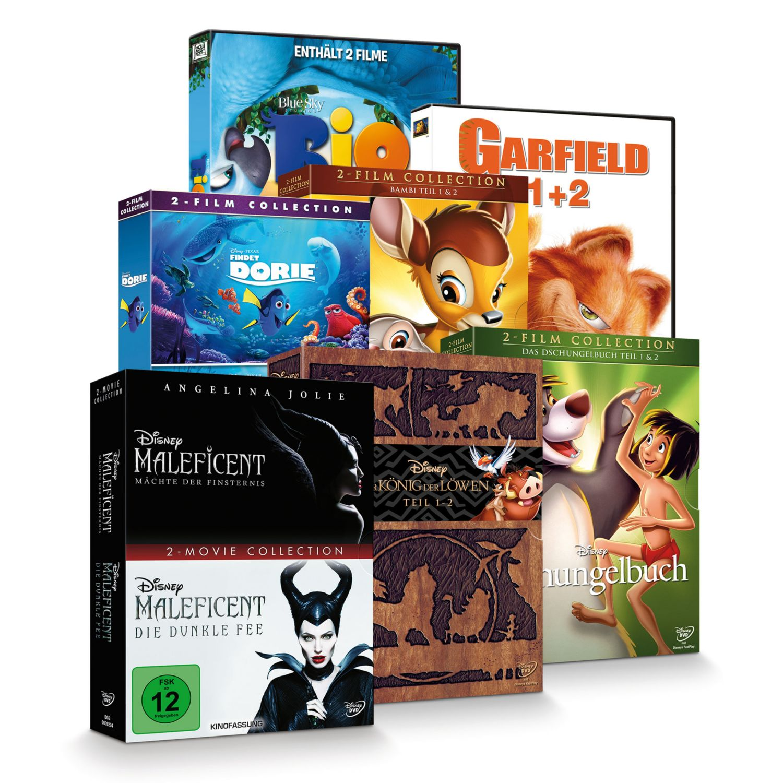 DVD Filmsammlung 1+2