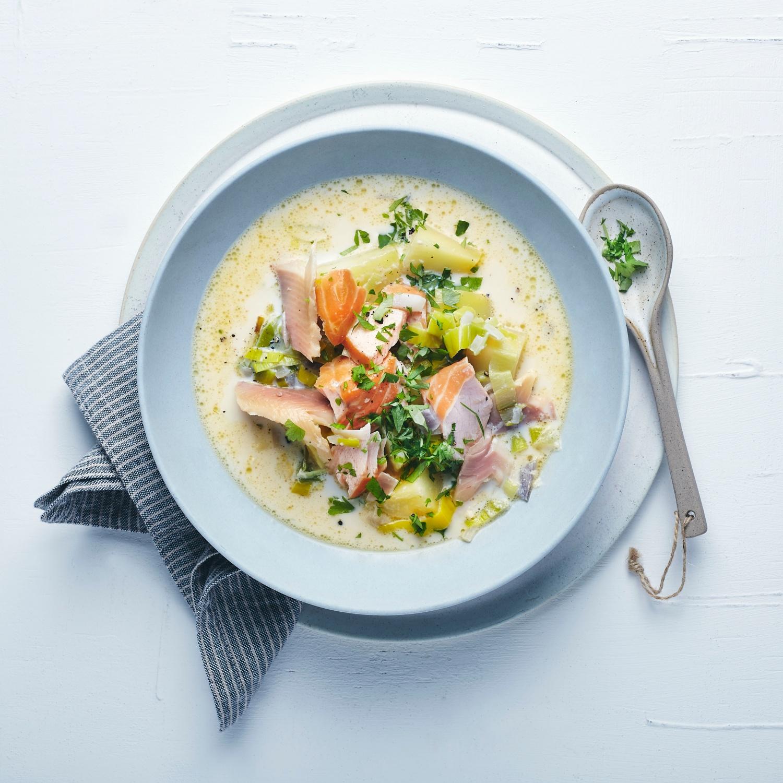 Fischsuppe Cullen Skink
