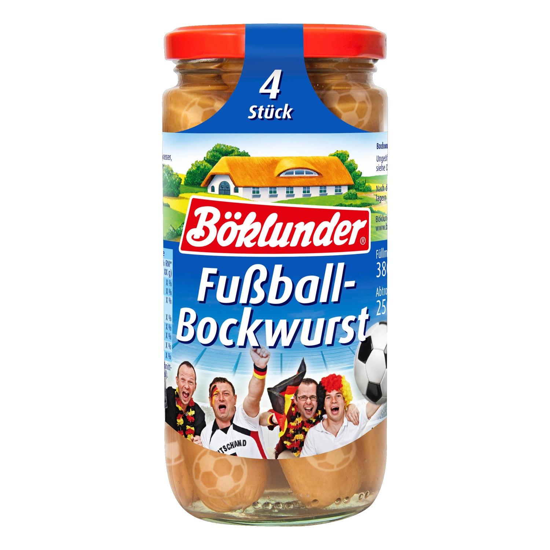 Böklunder Fußball-Bockwurst/-Mini-Balls 380 g*
