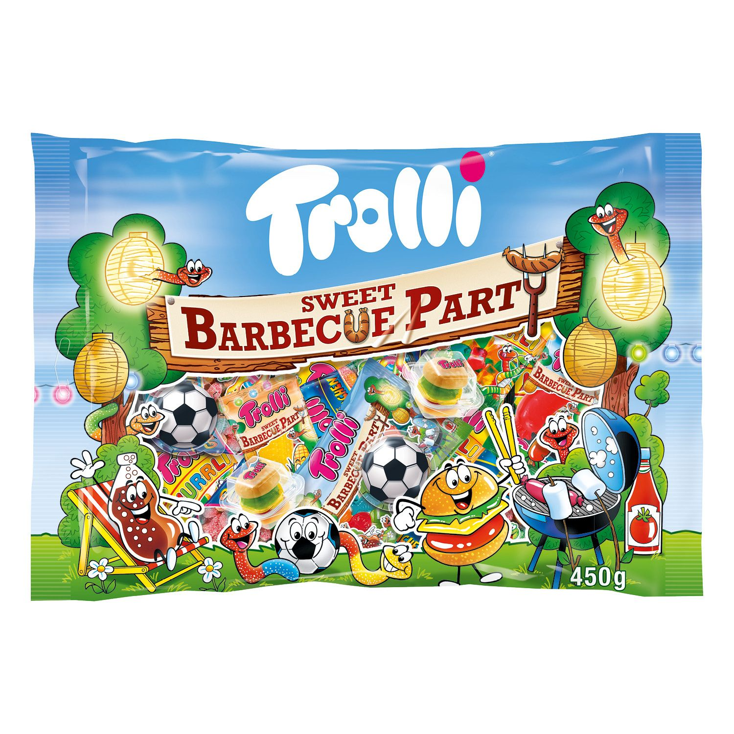 Trolli® Sweet Barbecue Party 450 g*