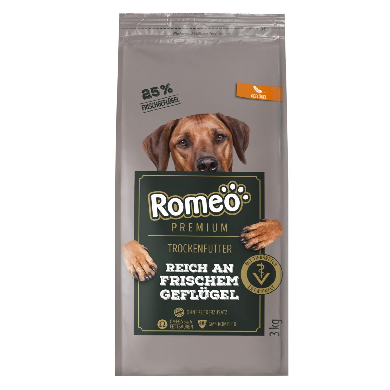 Romeo Premium Hundetrockenfutter 3 kg