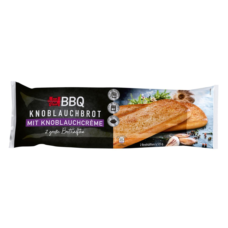 BBQ Knoblauchbrot mit Knoblauchcréme 250 g