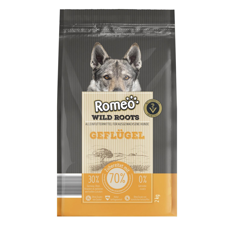 Romeo Wild Roots Hundetrockenfutter 2 kg