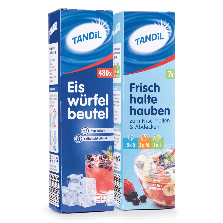 TANDIL Frischhaltehauben/Eiswürfelbeutel