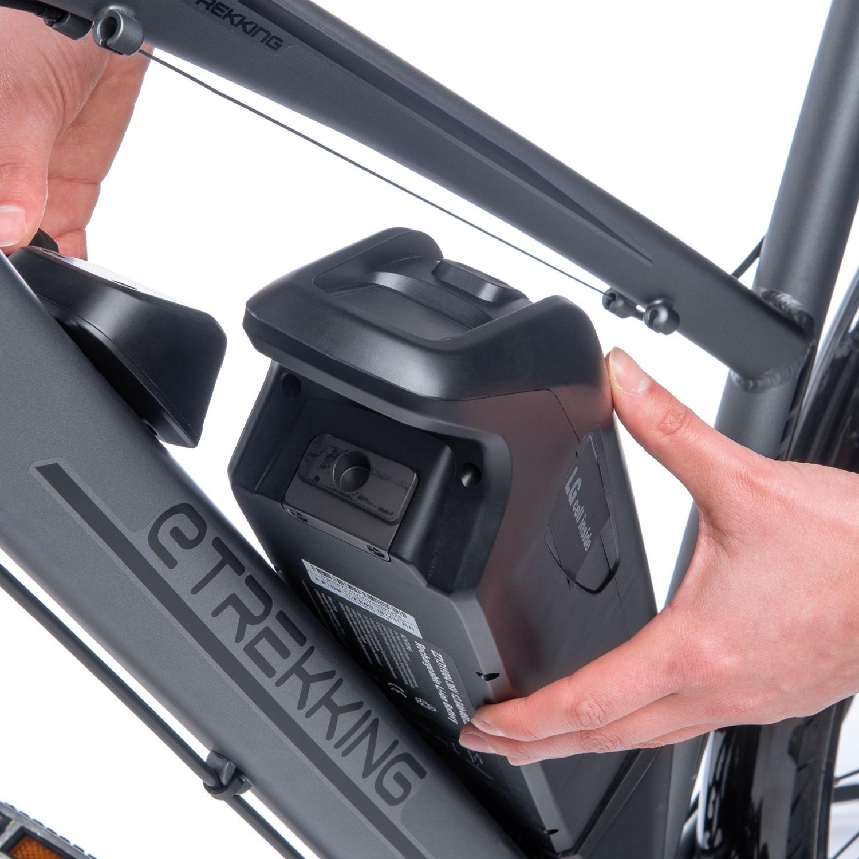 E-Trekkingbike für Herren